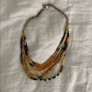 Beaded colorful necklace